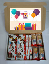 Happy Birthday Luxury Kinder Chocolate Treat Gift Box Present Hamper Boys/Girls