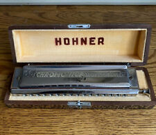 Hohner 64 Chromonica Professional Model 280 Made In Germany Excellent Condition