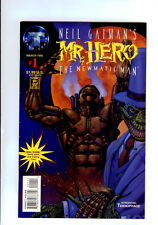TEKNO COMICS:Neil Gaiman's Mr. Hero - The Newmatic Man #1 HIGH GRADE 9.2 W/CARD