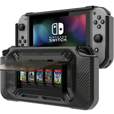 Nintendo Switch Grip Case Play Stand Protective Shell Cover Shock Bumper Slim
