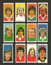 MANCHESTER UNITED The Red Devils OLD TRAFFORD 12 original cards KIDD BUCHAN HILL