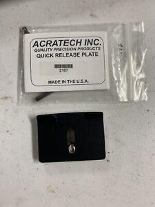 Acratech Quick Release Plate #2167 Fits Nikon/Canon/Bronica