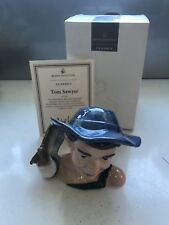 Royal Doulton Small Character Toby Jug Tom Sawyer D7187 Boxed
