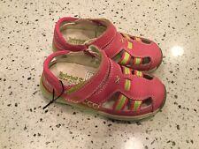 Timberland Adventure Seeker Closed Toe Dress Sandal Pink Girl Toddler Sz 9.5 New