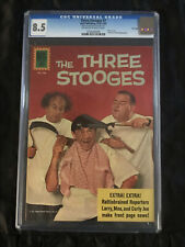 The Three Stooges #7 CGC 8.5 VF+ 1961/1962 Random House Archives File Copy!!