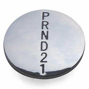 PRND21 Shift Knob Medallion Insert -- For Metal Knob