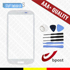 AAA+ GLASS/FRONT GLAS/VERRE AVANT WHITE + TOOLS FOR SAMSUNG GALAXY S3 I9300