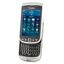 BlackBerry Torch 9810 Silver Slider Cell Phone AT&T Straight Talk Net10