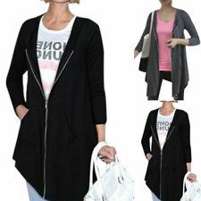 Fat Face Nuovo di Zecca hemsby Stripe con cerniera e cappuccio maglione Top Cardigan SZ 6 ~ 20 RRP £ 50