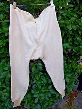 "Vintage Tusa Euro Cotton Terry Cloth Lined Long Johns Underwear 40"" x 26"""