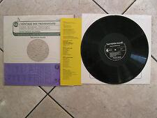 L'HERITAGE DES TROUBADOURS (Schola Cantorum de Londres) - LP