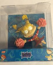 Nickelodean Angelica Cheerleader VTG 1999   Rugrats Christmas Holiday Ornament