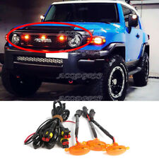 For Toyota FJ Cruiser 2007-20 LED Car Truck Front Grille Light Kit W/ Wire Speed