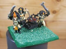 CONVERTED CUSTOM CLASSIC METAL DARK ELF CAULDRON OF BLOOD PAINTED (1120)