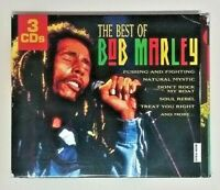Bob Marley (2004 Madacy Import Digipak 3CDs Playtested THF2 50134) The Best Of