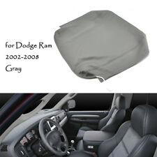 Armrest Center Console Lid Cover Skin For 02-2008 Dodge Ram 1500 2500 3500 Gray