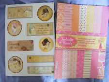 Backing Paper Book Toppers New & Unused
