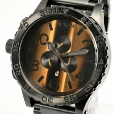 Authentic NIXON 51-30 Watch CHRONO Tiger A083-1073 Free Shipping & US SELLER