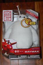"""Baymax 10"""" Talking Plush MIB-Big Hero 6-Disney Bandai"""