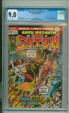 Marvel Spotlight #12 9.0 CGC Origin Of Son Of Satan 1973