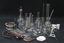 Konvolut Laborglas Laboreinrichtung Laborzubehör Glaskolben Labor Apotheke Deko