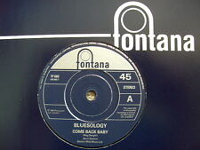 "Bluesology Elton John Come Back Baby 7"" Fontana Re-issue Very Ltd Rare"