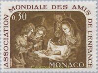 EBS MONACO 1966 - Birth of Christ - Gerrit van Honthorst - Xmas - YT 688 MNH**