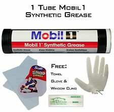 Mobil 1 Fully Synthetic Grease Lubricant Lube 13.4 Ounce Tube