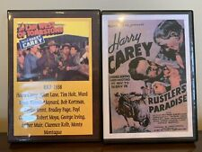 2 Harry Carey DVDs ~ The Law West of Tombstone ~ Rustler's Paradise ~ 1930's