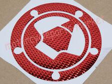 Red Fuel Gas Cap Sticker Decal For Kawasaki Ninja ZX6R ZX10R ZX14 2007-2013