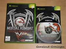 Xbox Game: Mortal Kombat Deadly Alliance (Complete)