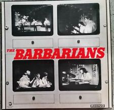 1979 ROCK - THE BARBARIANS - SELF TITLED LP - US RHINO RNLP 008 - VG+