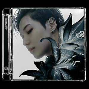 SHINEE [DON'T CALL ME] 7th Album JEWEL CASE TAEMIN CD+POSTER+Booklet+Paper+2Card