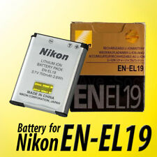New OEM Lithium-ion battery Nikon EN-EL19 3.7v 700mAh 2.6wh for CoolPix S4300