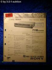 Sony Service Manual SL C30PS Video (#0033)
