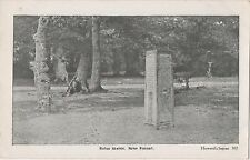 POSTCARD  NEW FOREST  Rufus Stone