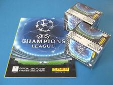 Panini Ligue des champions 2007/08 LEERALBUM + 2 écrans neuf dans sa boîte Top