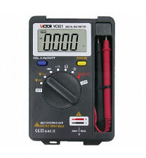 VICTOR Mini VC921 DMM Integrated Handheld Pocket Digital Frequency Multimeter