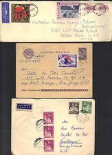 RUSSIA HUNGARY POLAND CZECHOSLOVAKIA DDR 1950's COLL OF 16 EAST EUROPE COMM CVRS