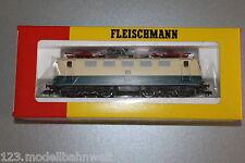 Fleischmann 4328 Elok Baureihe 141 128-9 DB blau/beige Spur H0 OVP