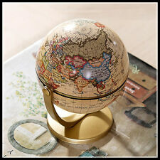 Small Plastic Terrestrial Globe World Globe Fashion Home Decoration Gift For Kid