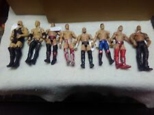 Mixed of 8  WWE Action Figures - Mattel 2010-2011 The Big Show,The Rock, 101 a