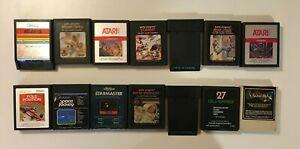 Atari 2600 Video Game Cartridges - Vintage - You Pick - US Seller