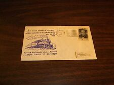 MAY 1966 SILVERTON NARROW GAUGE SPECIAL COMMEMORATIVE ENVELOPE