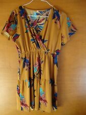 Shein Multicoloured Floral Dress Size XL  *Item being sold for Charity*