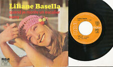 LILIANE BASELLA 45 TOURS FRANCE QUAND JE MONTE UN ESCALIER (LAURENT VOULZY)