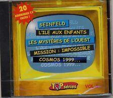 GENERIQUES TV CULTES - MISSION IMPOSSIBLE AMICALEMENT VOTRE XFILES BATMAN CD 20T