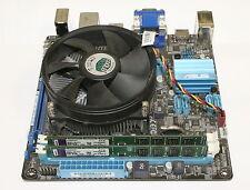 Asus P8H61-I Mini-ITX Motherboard Intel I3-2100 3.1 Ghz CPU + 4GB DDR3 Memory