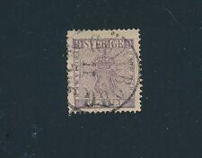 Sweden #7 (1858) 9o VIOLET VF; USED; AS SHOWN; **NICE STAMP** CV $250