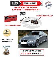 Gates LICHTMASCHINE Keilriemen Riemenspanner Set für BMW 320d Coupe 2,0 D 16V